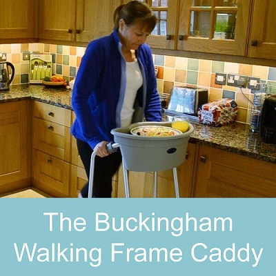 The Buckingham Walking Frame Caddy