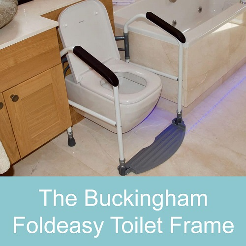 The Buckingham Foldeasy Toilet Frame